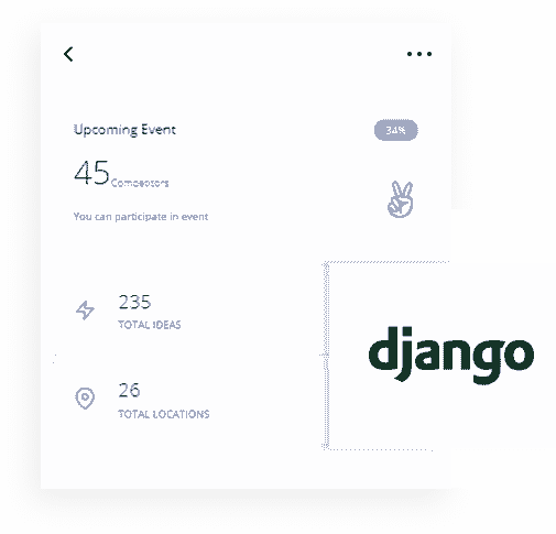 Djangp Framework - The backend used by Datta Able Django Web App.