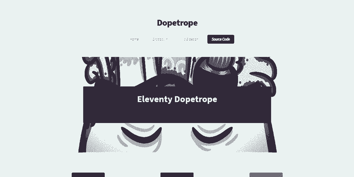 11ty Html5Up Dopetrope - Seed project provided by AppSeed.