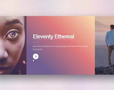 Static Site Eleventy Ethereal - Ethereal Design.