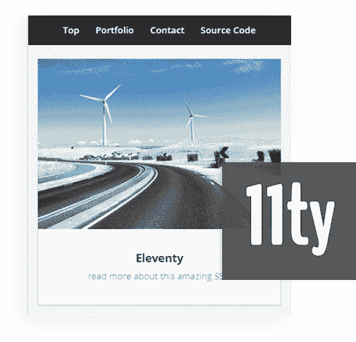 Eleventy Framework - The core used by 11ty Html5Up Miniport Web App.