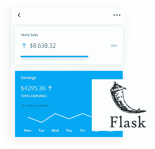 Flask Framework - The backend used by Datta Able Flask PRO Web App.