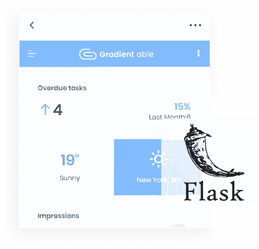 Flask Framework - The backend used by Gradient Able PRO Web App.