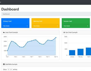 Flask Dashboard SB Admin - Admin Dashboard coded in Flask.