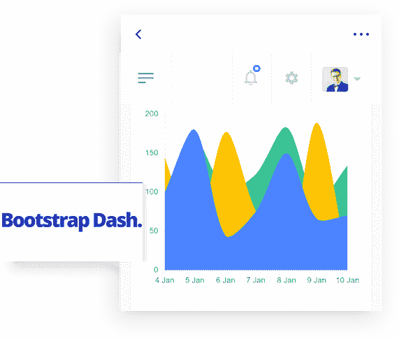 Flask Dashboard Sleek - UI Kit image.