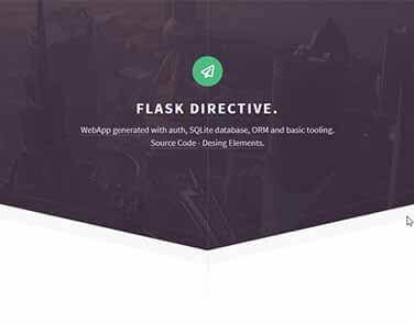 Flask Html5Up Directive - Directive Design.