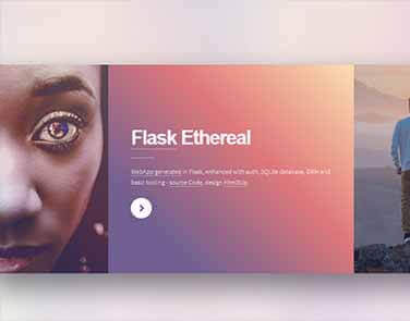 Flask Html5Up Ethereal - Ethereal Design.
