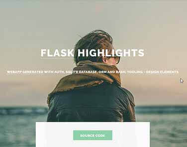 Flask Html5Up Highlights - Highlights Design.