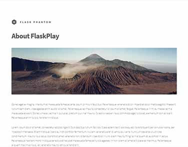 Flask Html5Up Phantom - Phantom Design.
