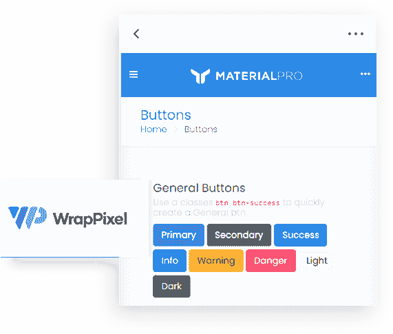 Flask Material Wpx PRO - UI Kit image.