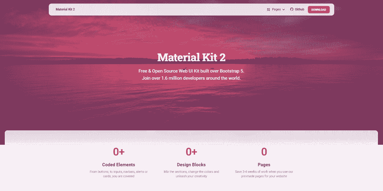 Flask Material Kit - Seed project provided by AppSeed.