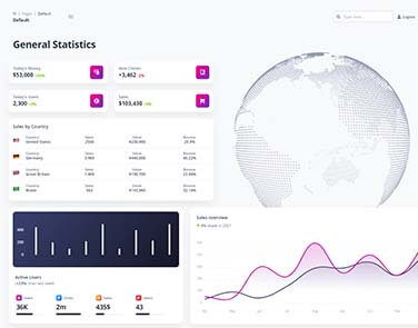 Flask Soft Dashboard PRO - Features: Database, ORM, Deploy Scripts.
