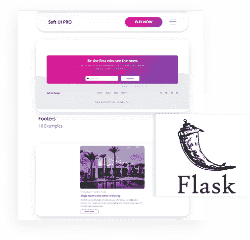 Flask Framework - The backend used by Flask Soft UI System Web App.