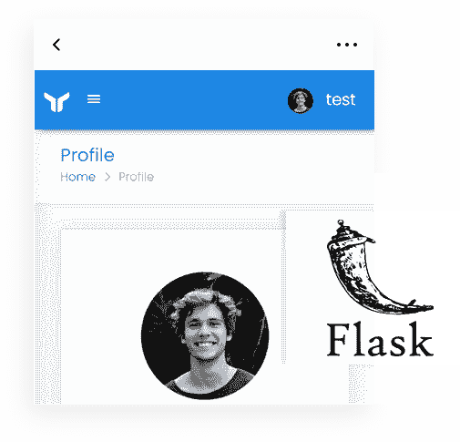 Flask Framework - The backend used by Jinja Material Lite Wpx Web App.