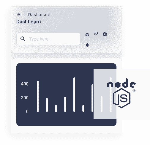 Node JS - The API backend used by React Node Soft Dashboard App.