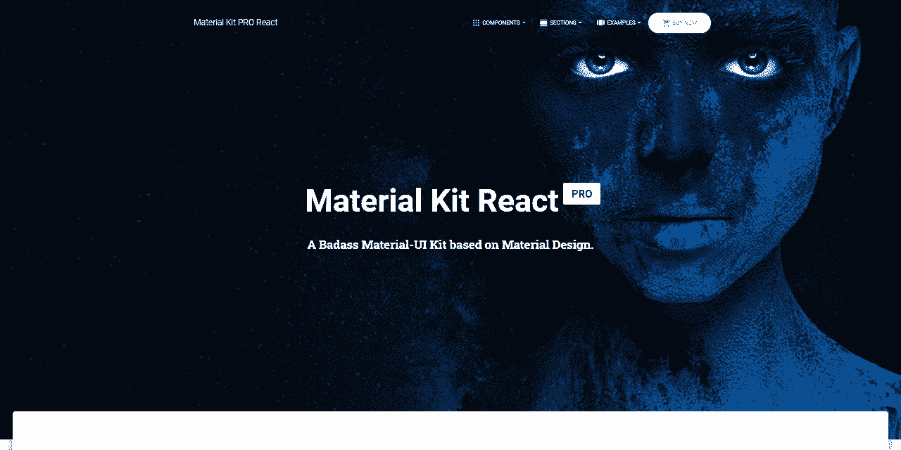 React Node Material Kit PRO - Seed project provided by AppSeed.